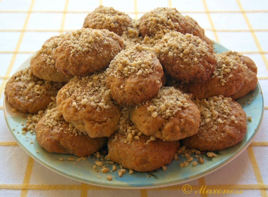 Меломакарона (рождественское печенье). Греческая кухня