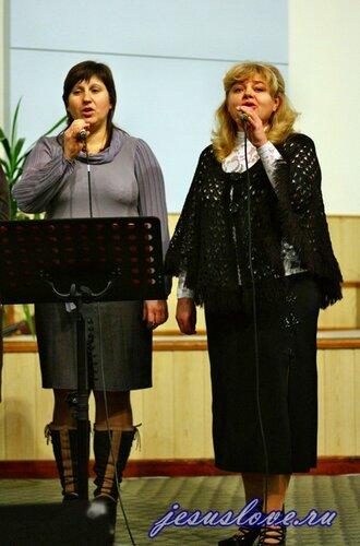 Служение 1 декабря 2012г