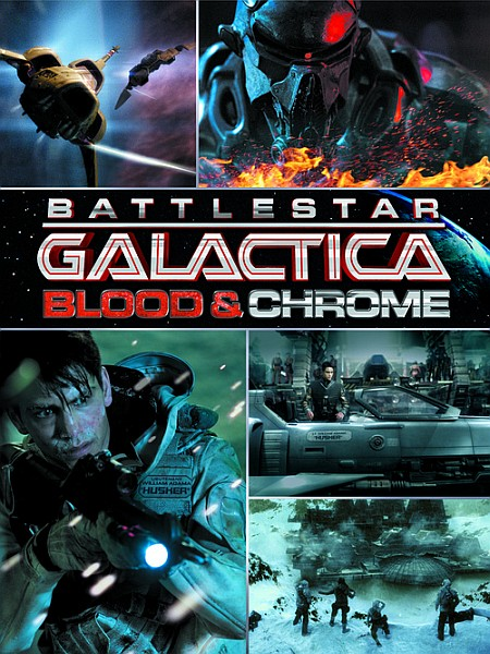 ������� ������� ���������: ����� � ���� /Battlestar Galactica: Blood and Chrome (1 �����/2012/HDRip/WEBRip)
