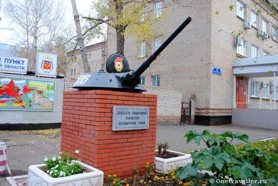 Памятник защитникам Отечества в Оренбурге