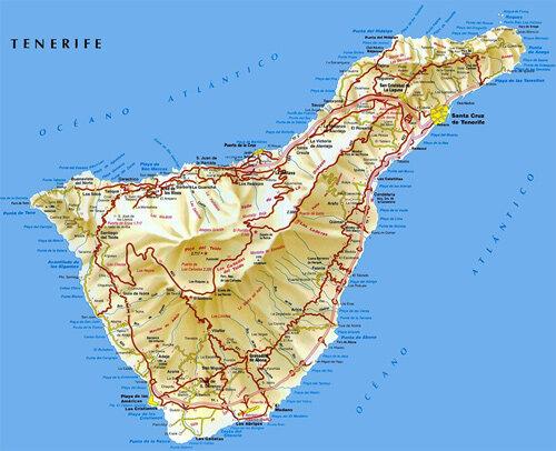 О размерах острова: если ехать