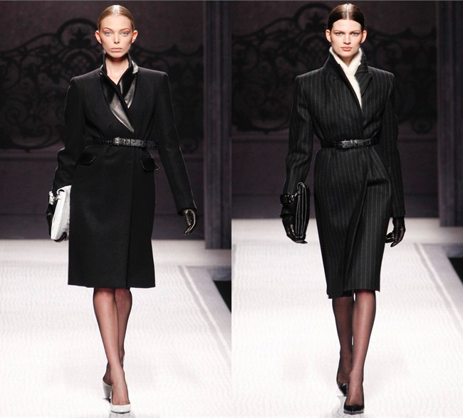 Пальто тренд осени 2012