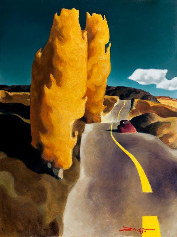 Американские ландшафты от Z.Z. Wei. По просёлочным дорогам Северо-Запада