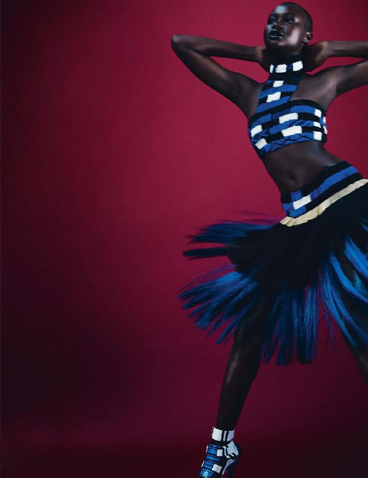 Грейс Бол в майском номере Elle France