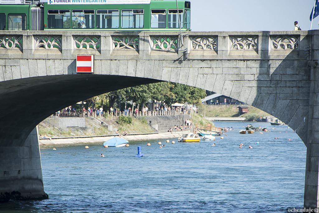 Речь идет не просто о том, чтобы искупаться в Рейне в жаркую погоду (это тоже одно из любимых летних