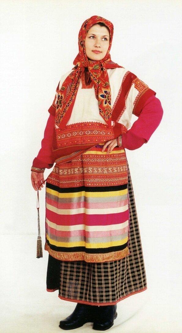 Тамбовский костюм картинки