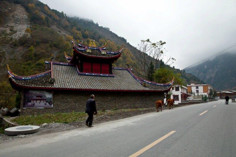 Храм в горах