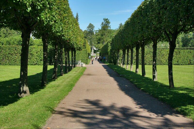 Екатерининский парк, Старый сад