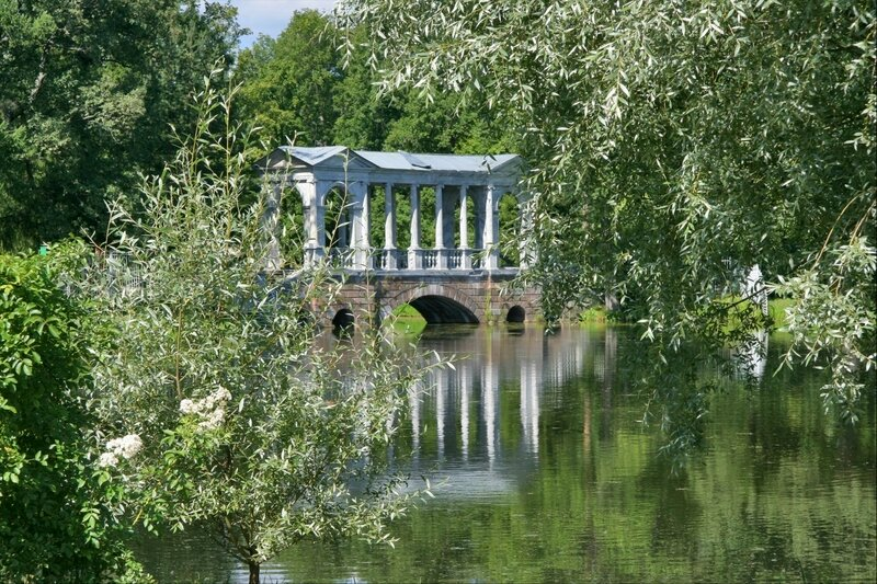 Екатерининский парк, Мраморный (Палладиев) мост