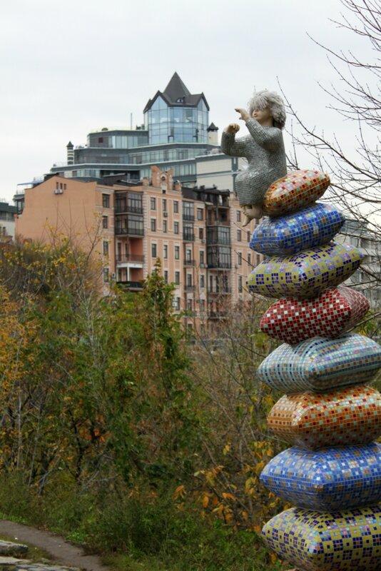Скульптура Пейзажной аллеи