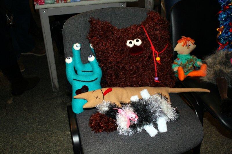 Авторские мягкие игрушки
