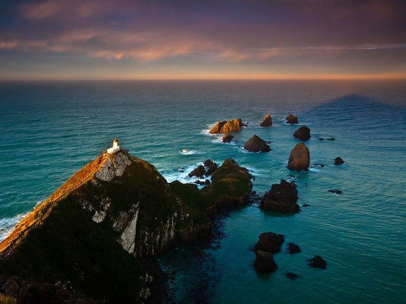 Маяк Nugget Point