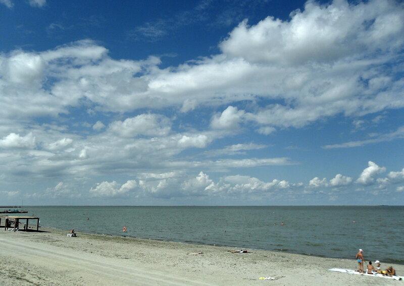 Облака августовского моря