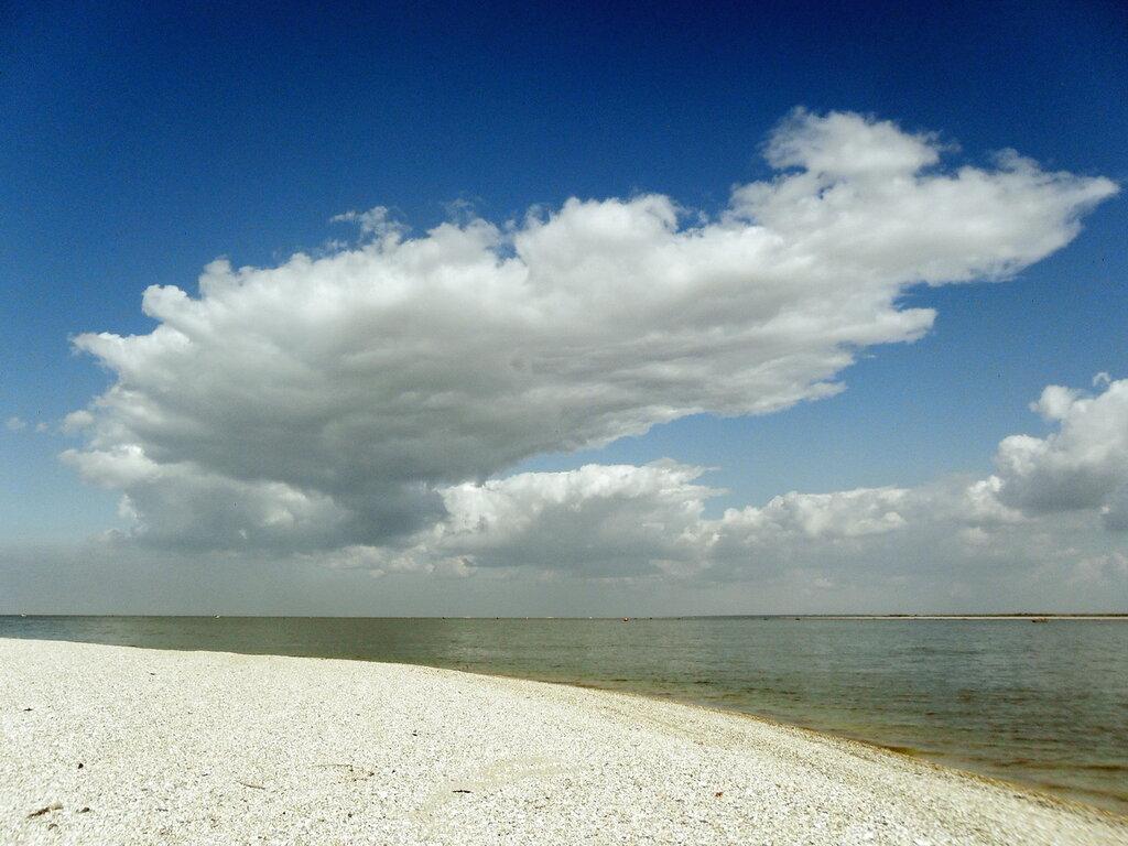 Побережье Азовского моря, сентябрь 2012