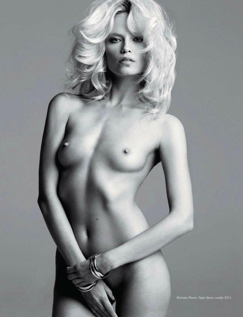 модель Natasha Poly / Наташа Поли, фотографы Inez & Vinoodh / Эротика в Vogue, Россия спецвыпуск ноябрь 2012