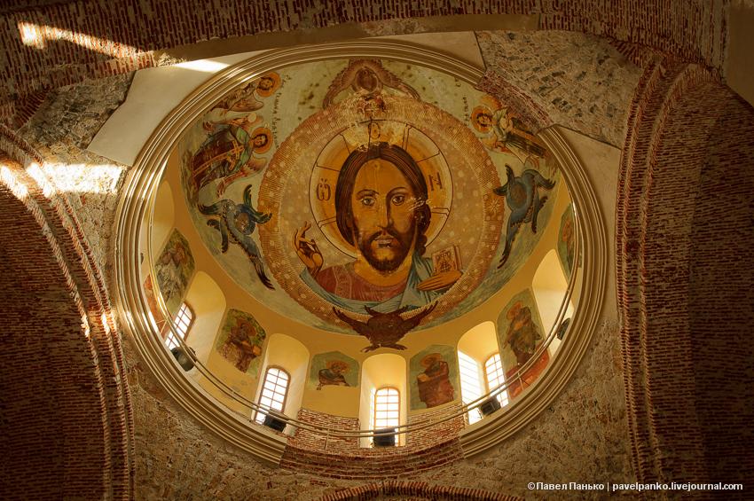панько pavelpanko Пицунда храм собор фреска