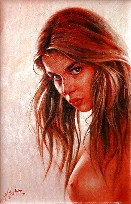 Сон грешницы. Итальянский художник Angelo Batti +21