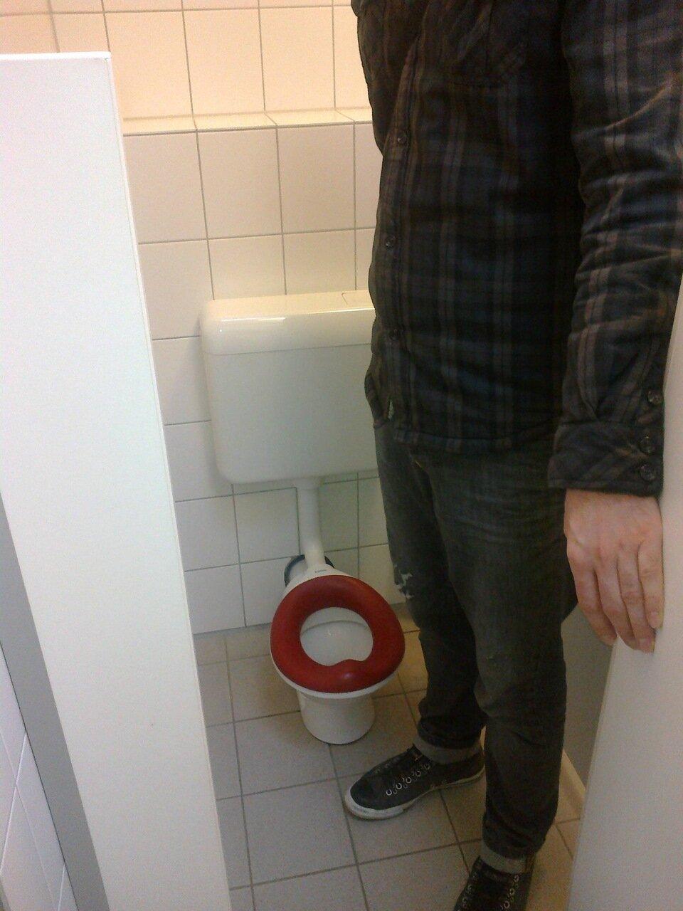 Туалет в детском садике