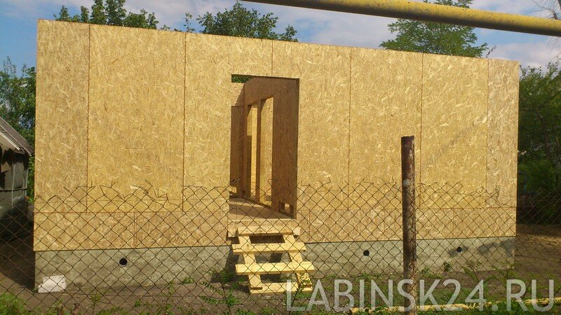 Каркасный дом из OSB (ОСП)