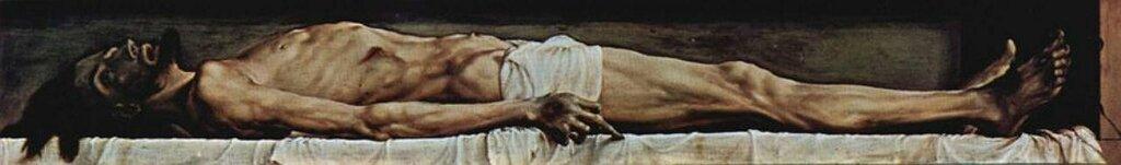 Гольбейн, Мертвый Христос в гробу, (1521—1522 )