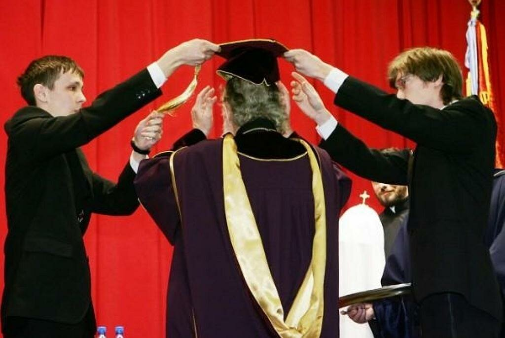 Патриарх Кирилл стал почётным д.н. в Мифи и освятил домовой храм при институте ,4 марта, 2010 года,3