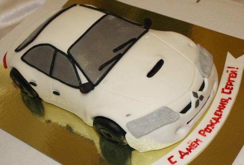 Торт в форме машины фото 7