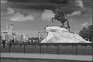 Медный всадник. Cанкт-Петербург. Октябрь 2012.