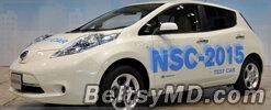 Концерн Nissan продемонстрировал беспилотный LEAF