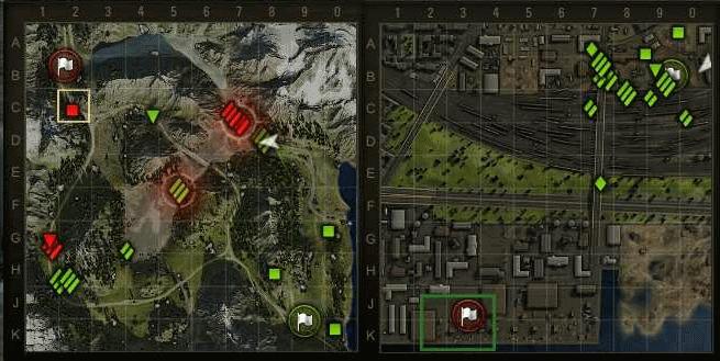 Мод миникарты с увеличенными значками для World of Tanks 0.8.0