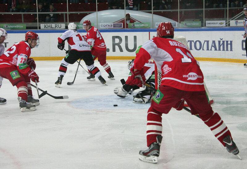 «Спартак» vs «Трактор» 4:5 Б чемпионат КХЛ 2012-2013 (Фото)