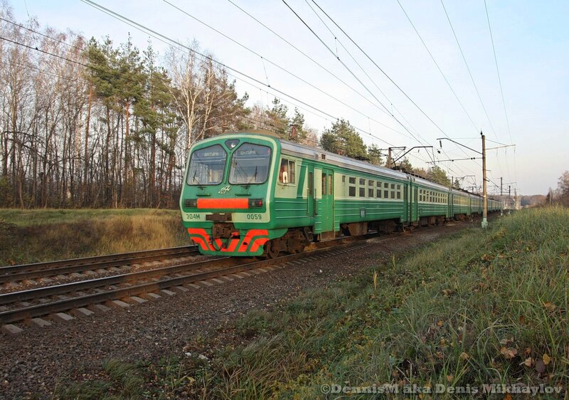 Электропоезд ЭД4М-0059.
