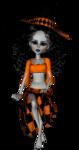 Куклы. Хэллоуин. Ведьма