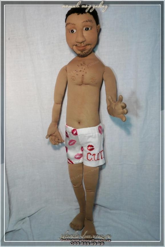Портретная текстильная кукла.Шаржево - портретная кукла.портретные куклы по фото.Шарж куклы. Страна Мастеров