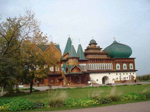 Коломенское, деревянный дворец