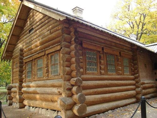 Коломенское, домик Петра1