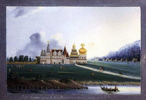 Деревянный дворец в Коломенском.