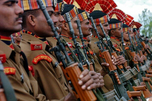 INDIA-KASHMIR-BSF-RECRUITS