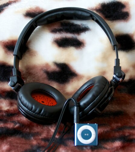iPod Shuffle и Panasonic RP-DJS400