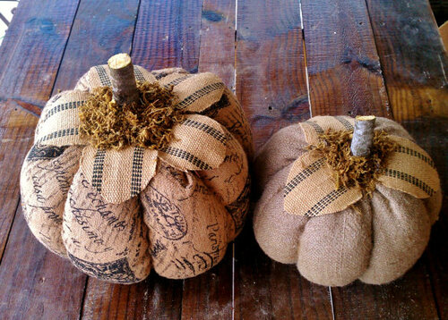 тыквы винтажные, Красивые текстильные тыквы: мастер-классы и идеи, Hallows' Eve, All Saints' Eve, на Хэллоуин, тыквы, тыквы текстильные, тыквы из ткани, тыквы для интерьера, тыквы текстильные, тыквы на Хэллоуин, тыквы своими руками, своими руками, интерьерный декор, декор на Хэллоуин, мастер-классы, Хэллоуин, идеи текстильных тыкв, фотоидеи, праздничный декор, День Благодарения, Праздник урожая, украшение интерьера тыквами, Красивые текстильные тыквы: мастер-классы и идеи, http://prazdnichnymir.ru/,  Винтажные тыквы из ткани на Хэллоуин своими руками