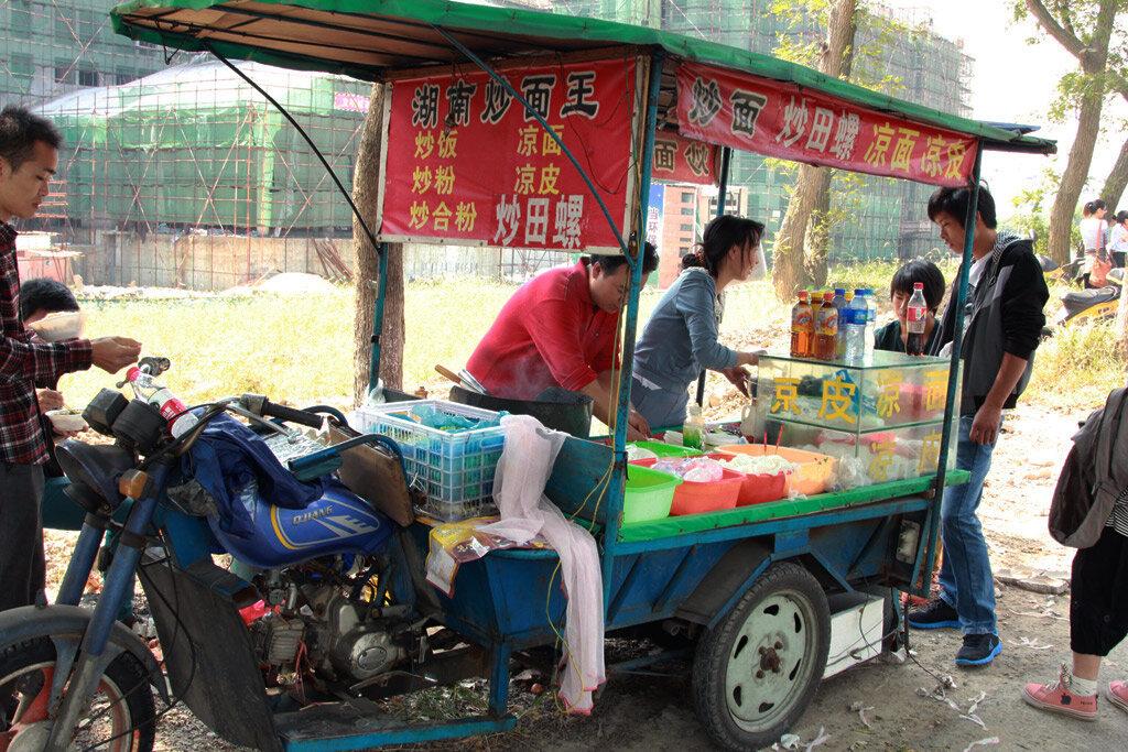 город Хайнин - местечко ЯньГуань