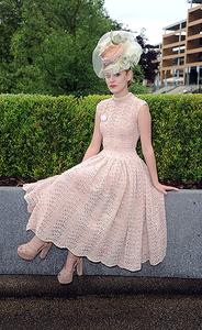 Королевские скачки - ретро платье от Too Darn Hot Vintage Наши воплощения