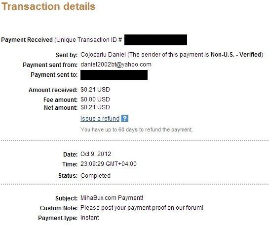 Mihabux.com - Схема Бонусов.