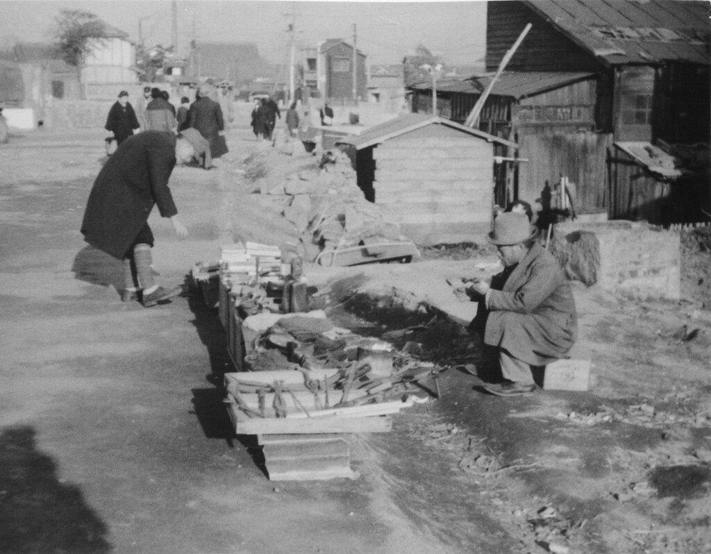 Street Peddlers, Feb 2, 1946