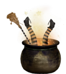 NLD Witch into the cauldron.png