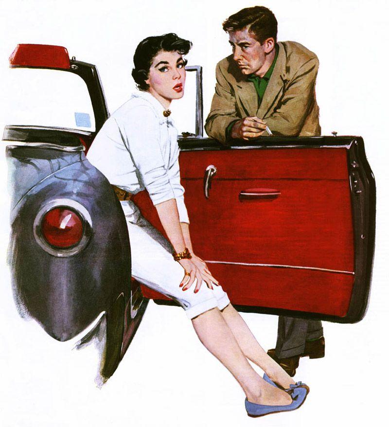 Винтажные иллюстрации о любви от Coby Whitmore