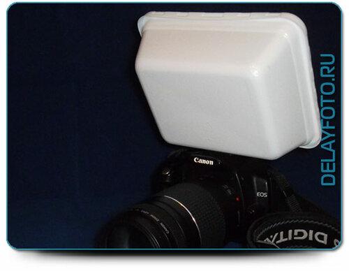 Лапша быстрого приготовления или что еще нам не хватает для эффективное использование встроенной фотовспышки