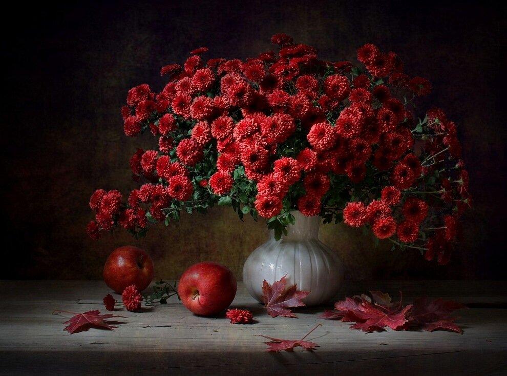 Октябрь. Аромат осенних яблок
