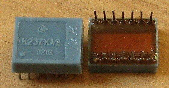 Микросхемы 237 серии для радиоприемников.  Имел с ними дело, хорошие, экономичные.