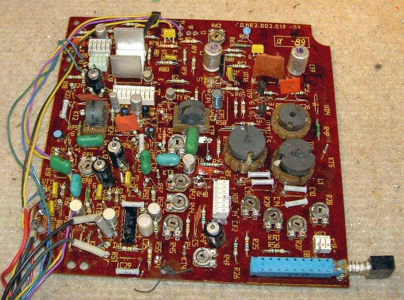Электрическая схема магнитофона. магнитофона.  Относительный уровень помех в канале З/В с системой шумопонижения...