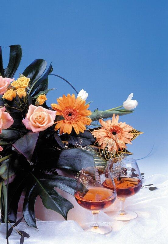 Букет цветов с кольцом фото бородами